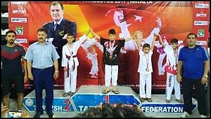 Büyükşehir Belediyespor'lu Tekvandocu Türkiye 3.sü oldu