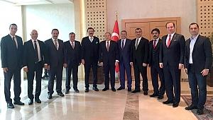 Kaya, Hisarcıklıoğlu ile Moldova'da temaslarda bulundu