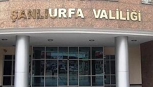1 ay boyunca Urfa'da gösteri ve yürüyüş yasak