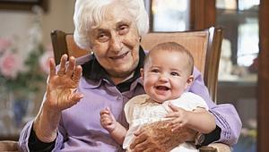 Büyükanne mart'ta