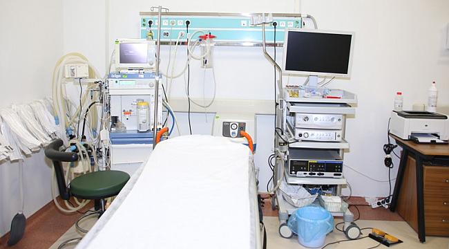 Endoskopi ünitesi hizmete girdi
