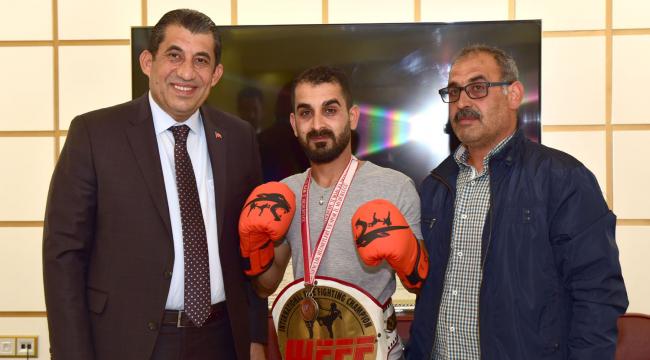 Dünya Şampiyonundan Atilla'ya ziyaret