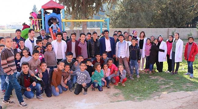 Harran'da öğrenciler için oyun parkı yapıldı