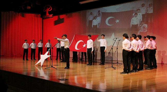 İstiklal Marşı'nın 97. yılı kutlandı