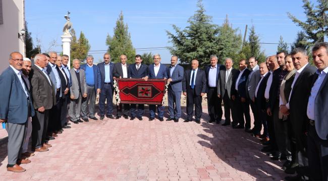 Karaköprü'den kardeş belediyeye ziyaret