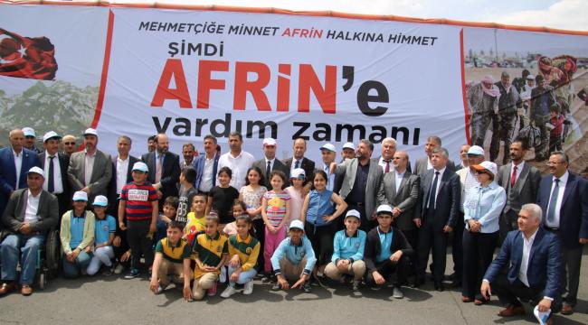 Afrin'e insani yardım