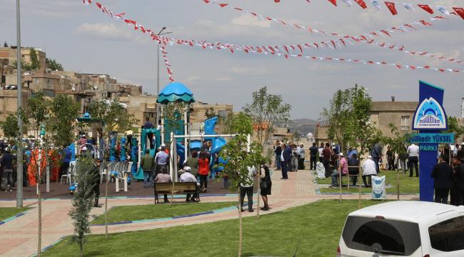Merhum vekil adına park açıldı