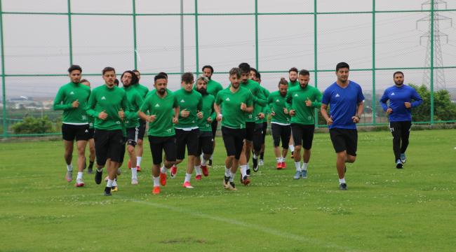 Zonguldak maçına hazırlık