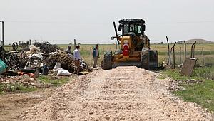 5 kırsal mahallenin yolları yapılıyor