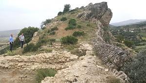 Ortaçağ dönemine ait kale bulundu
