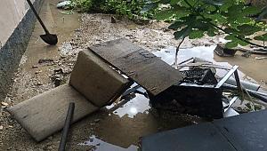 Şiddetli Yağmur Sular Altında Bıraktı