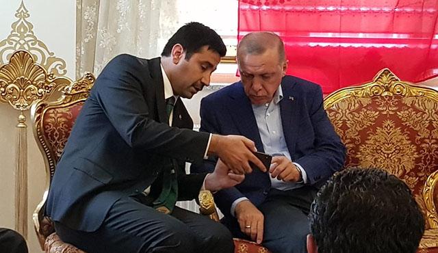 Yıldız görüntüleri Erdoğan'a izletti