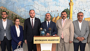 Gençlik kolları genel başkanı Urfa'da