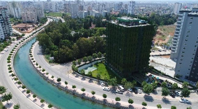 Türkiye'nin Tek Yeşil Apartmanı