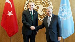 Başkan Erdoğan Guterres ile Görüştü