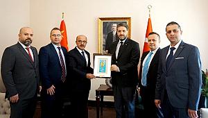 MÜSİAD'dan Büyükelçi Önen'e ziyaret