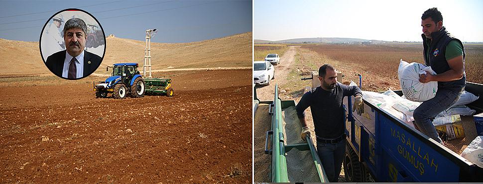 Şanlıurfa'da ekim telaşı başladı