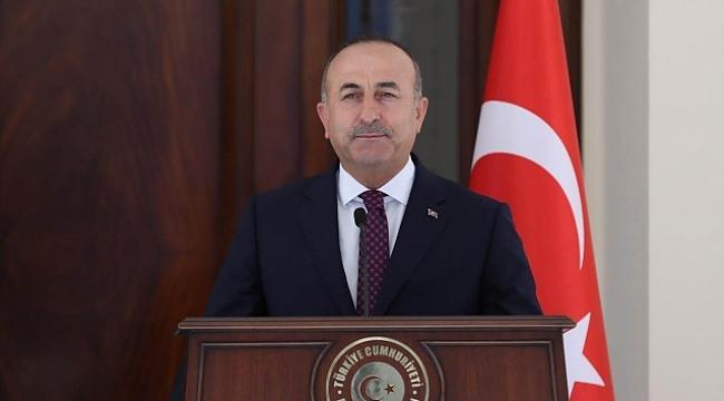 """Çavuşoğlu:''Yasadışı yerleşimi endişeyle karşılıyoruz"""""""