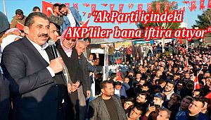 Ak Partili Başkan AKP'ye meydan okudu