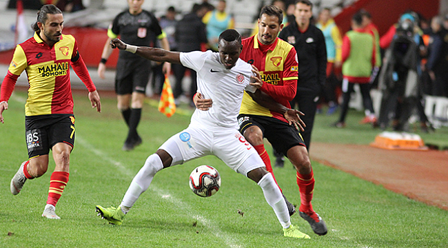 Antalyaspor 3-3 Göztepe