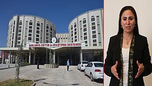 Ayşe Sürücü, Eyyübiye Hastanesini sordu