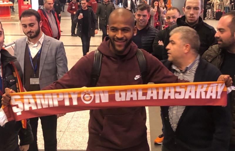 Galatasaray'ın yeni transferi Marcao geldi