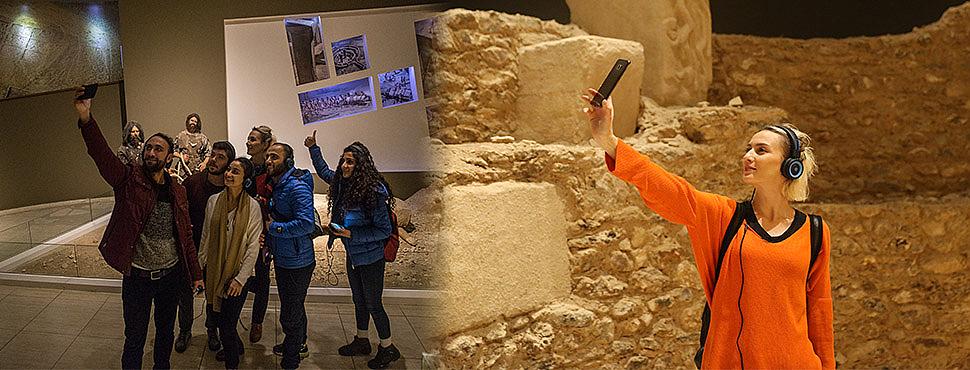 Müzeler de selfie günü yapıldı