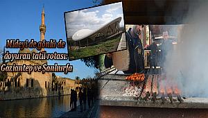 Tatilcilerin yeni rotası: Gaziantep ve Şanlıurfa