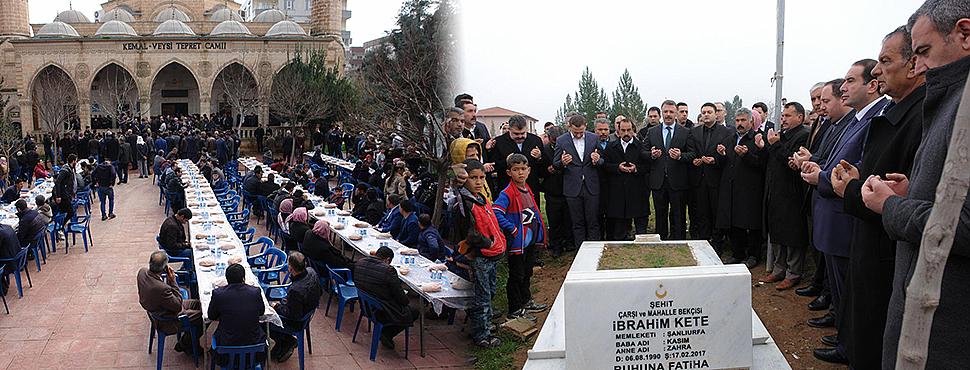 17 Şubat Şehitleri, mezarları başında anıldı