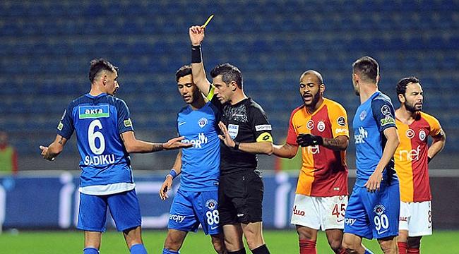 Galatasaray zirve takibini sürdürdü