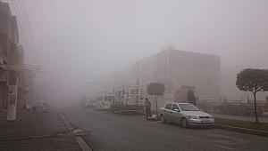 Şanlıurfa güne yoğun sisle başladı