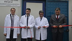 Su ürünleri araştırma laboratuvarı açıldı