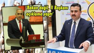 Aydınlık: İl Başkanı, kendini Bakan'ın yerine koydu