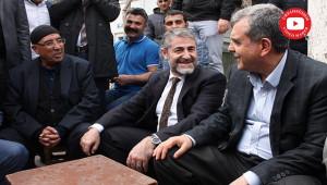 Bakan Yardımcısı Nebati, Viranşehir'de destek istedi