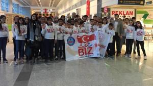'Biz Anadoluyuz' projesi öğrencileri İstanbul'a gitti