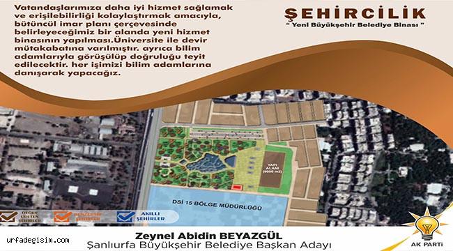 Büyükşehir'in yerine yeşil alan projesi