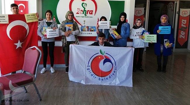 Eğirdir'den Şanlıurfa'ya eğitim desteği