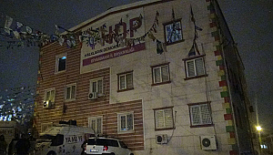 HDP İl Binasına Operasyon; Çok Sayıda Gözaltı