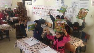 Karakbük'ten Ceylanpınar'a kırtasiye desteği