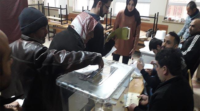 Oy kullanma işlemi sona erdi