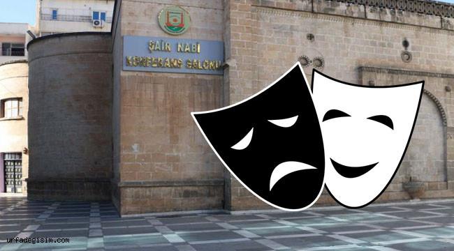 Şanlıurfa'da iki tiyatro oyunu oynanacak