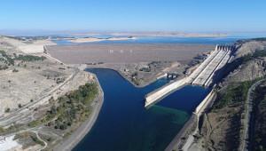 Atatürk Barajı doluluk oranı ile rekor kırdı
