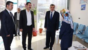 Başkanlardan Esnaflara teşekkür ziyareti