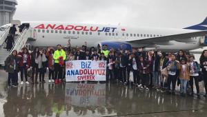 'Biz Anadoluyuz' ile İstanbul ve Trabzon'a uçuyorlar
