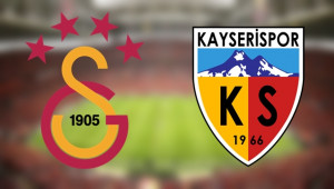 CANLI ANLATIM | Galatasaray - Kayserispor