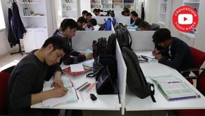 Haliliye'de gençler üniversiteye hazırlanıyor