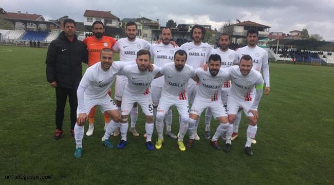 Karaköprü Belediyespor, 1 puanla döndü