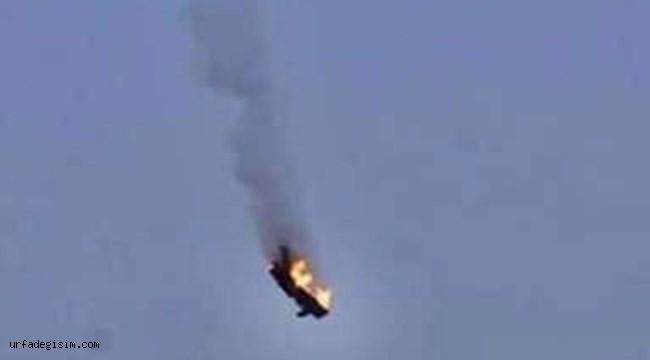 Libya'da Askeri Uçak Düştü