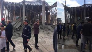 Şanlıurfa'da inşaat çöktü: 1 yaralı