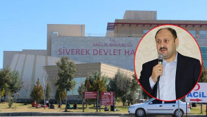 Siverek Devlet Hastanesine yeni atamalar olacak